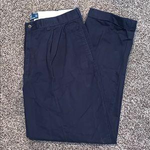 Polo Ralph Lauren Mens Hammond Pants Navy 36x30